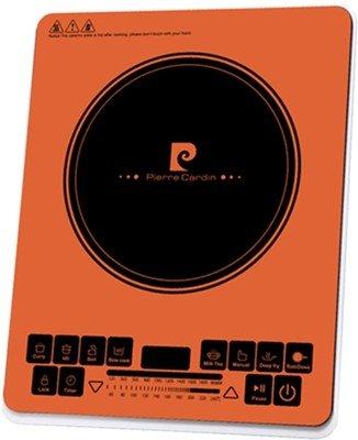 Pierre Cardin 1900W Induction Cooker, Orange