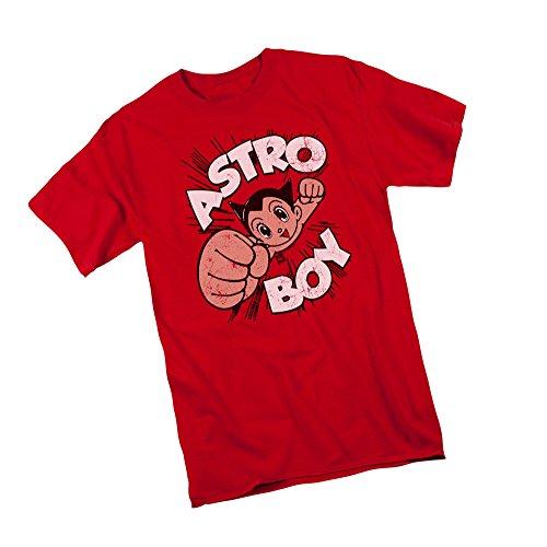 Astro Boy Merchandise (Flying -- Astro Boy Adult T-Shirt, Medium)