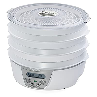 Presto 06301 Dehydro Digital Electric Food Dehydrator by National Presto Industries Inc