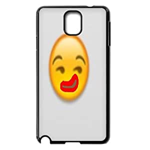 Sexyass Funny Emoticons Case for Samsung Galaxy Note 3, with Black