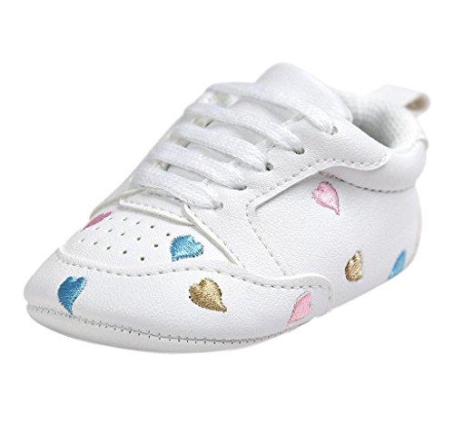 Covermason Kleinkind Baby Weiche Sohle Schuhe Turnschuhe Krippeschuhe Multicolor