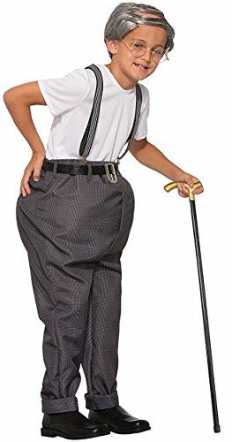 Forum Novelties Child's Uncle Bert Costume (Old Man Costume For Boy)