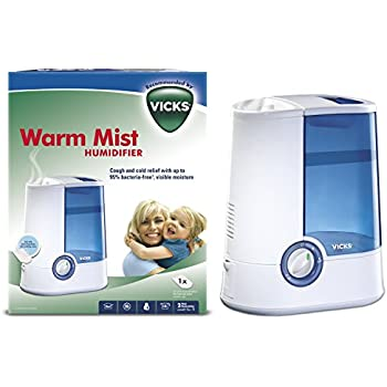 Amazon Com Vicks Warm Mist Humidifier Health Amp Personal Care