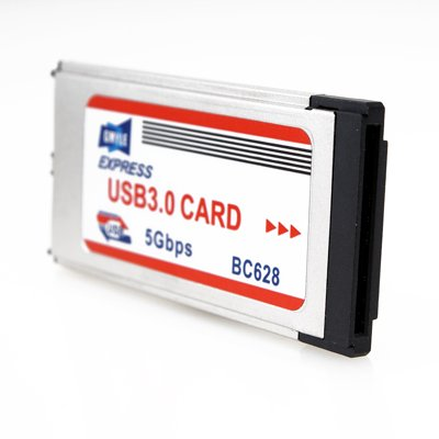 ExpressCard 34mm to USB 3.0 Adapter (Dual Port)