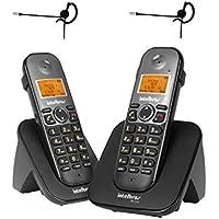 Kit Telefone sem fio com ramal TS 5122 Com 2 Fones Intelbras