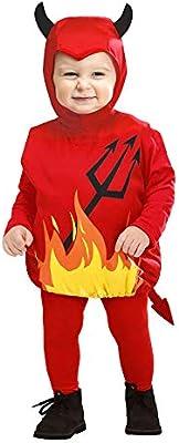 WIDMANN - Disfraz de diablo para niños de 1 a 3 años (SA-1897T ...