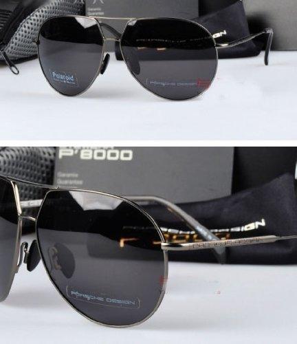 0672fa6582a Porsche Design Sunglasses P8000 Model P8510 100% Authentic  Amazon.co.uk   Clothing