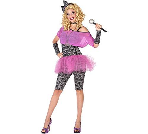 Female Pop Star Costumes - Atosa 53891 Popstar Costume for Women