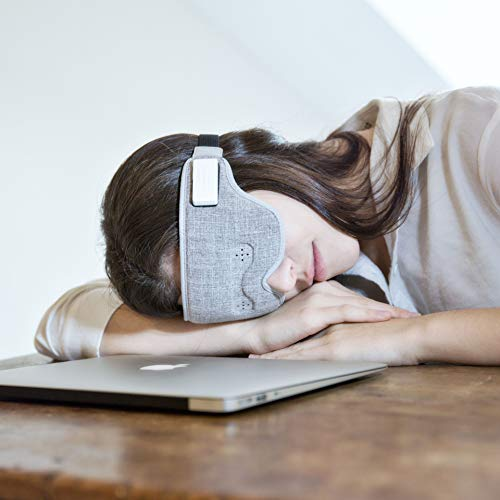 Ivation Luuna Brainwave Brain Sensing Bluetooth Smart Sleep Mask Built-in Music/Sounds, Wireless Connection to Most Devices with EEG and AI Technology - Great for Home, Travel or Nap-Break at Office by Ivation (Image #4)