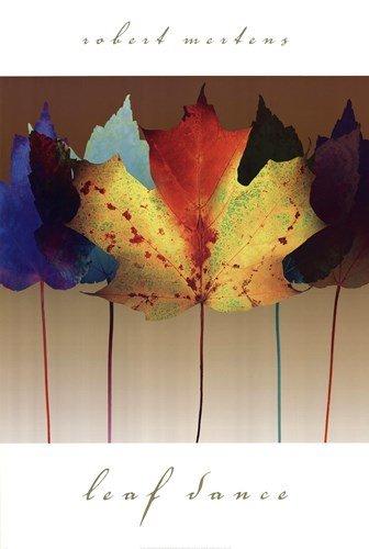 Leaf Dance by Robert Mertens - 24x36 Inches - Art Print Poster Robert Mertens Leaf
