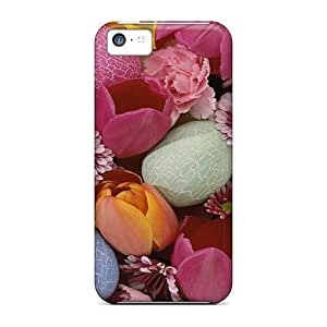 LJF phone case WUAApip900VWdKy Tpu Phone Case With Fashionable Look For iphone 4/4s - Fancy Easter Eggs