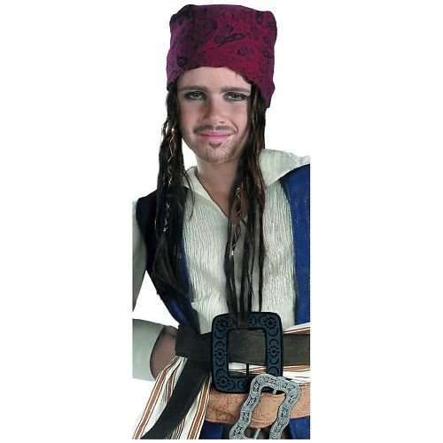 Disguise Costumes Jack Sparrow Headband with Hair, Boys