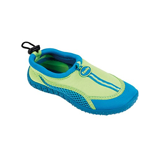 Fashy Guamo Kinder Aqua-Schuh 7495 51 - Sandalias deportivas para niño Verde (grün-türkis)