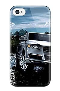 Kingforever Nancy Martinez Scratch-free cell phone case cover For Iphone 4/4s- Retail Packaging - Audi Q7 9ZnnlXaGeUG 37