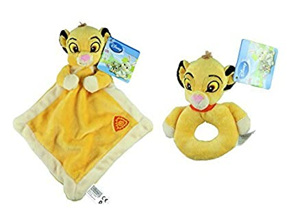 Disney Animal cuentos Lady bebé manta de peluche y Set de tattle Twin Pack