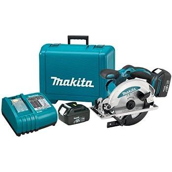 Makita Bss610 18 Volt Lxt Lithium Ion Cordless 6 1 2 Inch