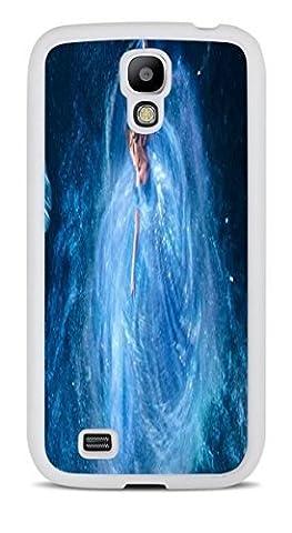 Popular Cinderella Print White Silicone Case for Samsung Galaxy S4 (Cinderella Phone Cases Galaxy S4)