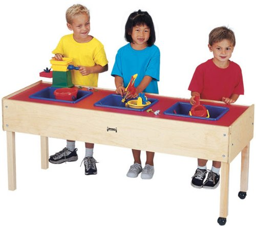 - Jonti-Craft 0886JC Toddler 3 Tub Sensory Table