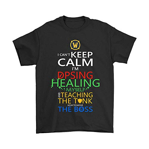 World of Warcraft I Can't Keep Calm I'm DPSing Shirts