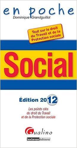 En ligne Social : Les points clés du droit du Travail et de la Protection sociale pdf