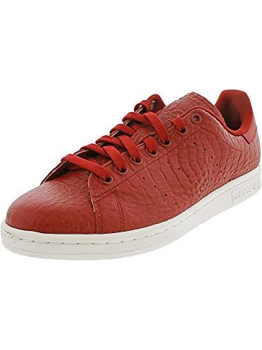 adidas Men's Stan Smith Sneaker,Red/White,8.5 ()