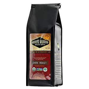 Paradise Mountain, New Thailand Dark Roast, USDA Certified Organic, Direct Trade, Whole Bean Coffee 16oz