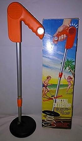 Amazon.com : Radio Shack Black and Orange Vintage Metal Detector Model 60-3003 : Garden & Outdoor