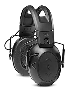 6. 3M Peltor Sports Tactical 500 Electronic Hearing Protector, Bluetooth Wireless Ear Protection (Black)