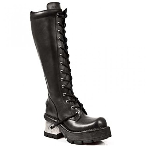 Nero nero New Stivali Donna Rock nxTH6w8qA0