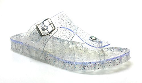 Bambu Glitter Gelé T-rem Rem Glid Sandal Maximize01 Klar