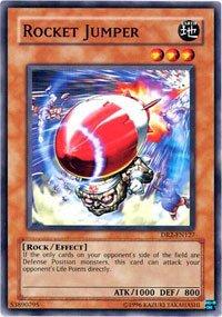 Amazon com: Yu-Gi-Oh! - Rocket Jumper (DR2-EN127) - Dark