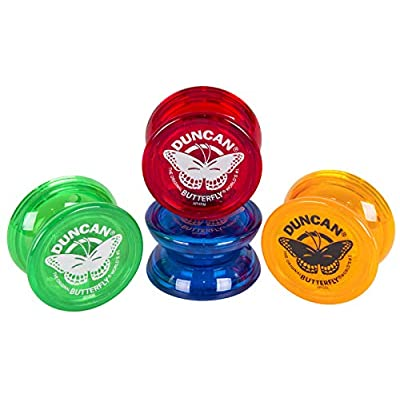 Duncan BUTTERFLY YO-YO (colors may vary): Toysmith: Toys & Games