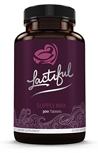 Lactiful Supply Max - World's Strongest Herbal Lactation Supplement for Increasing Breast Milk Supply by Lactiful