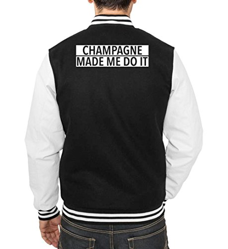 Me Champagne Certified Nero Do It Vest Freak College Made rrxqAB54