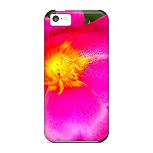 Special Hkeller Skin Case Cover For Iphone 5c, Popular Flower Phone Case