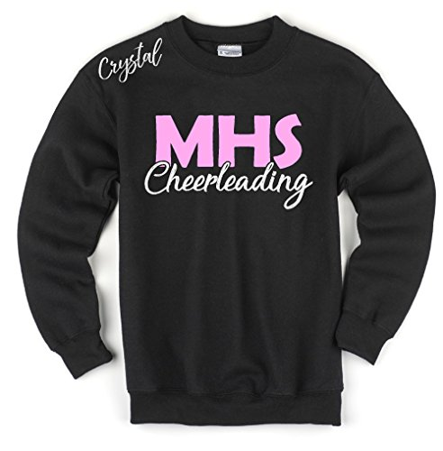 Cheerleading Way Adult Crew Neck Sweatshirt