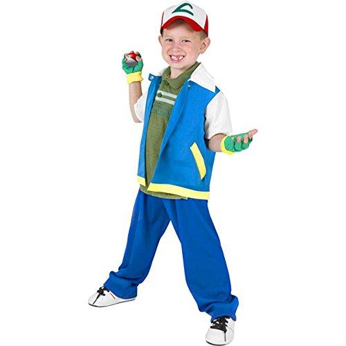 Wilton Boys Child's Classic Pokemon Ash Costume ()