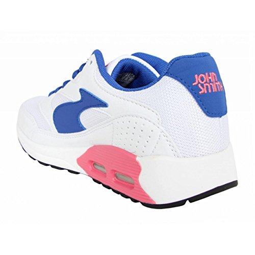 Chaussures de sport pour Garçon et Fille et Femme JOHN SMITH RESO JR 15I BLANCO
