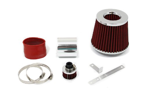 99 00 01 02 03 04 VW Golf / Jetta / GTI with 1.8T / 2.0L / VR6 Short Ram Air Intake Red (Include Air Filter) SR#VW004R