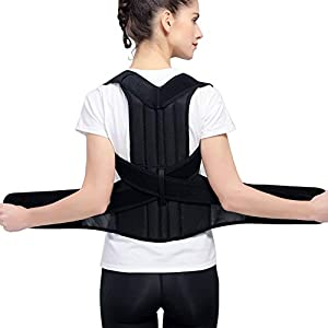 Posture Corrector for Men and Women - HailiCare Spinal Lumbar Support Back Brace Straightener with Dual Breathable… 20