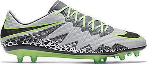 Nike Herren Hypervenom Phinish Fg Fußballschuhe Plateado (Plateado (pure platinum/black-ghost green))