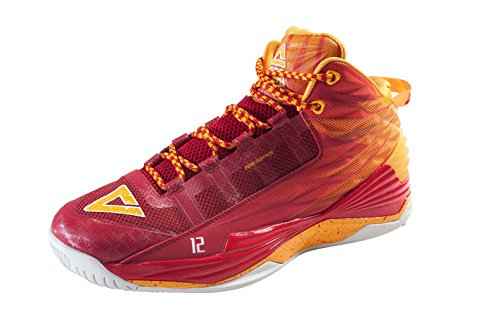 Peak Baloncesto Shoe Dwight Howard DH1 Red/Naranja Yellow (e62003 a)