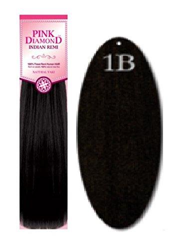 Amazon pink diamond human hair extensions remi loose deep pink diamond human hair extensions remi loose deep 18quot 1b black pmusecretfo Choice Image