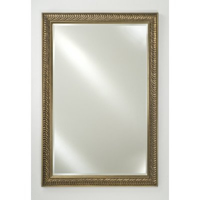 Afina FM2030FBV Frameless Beveled Countertop Bathroom Mirrors, 20