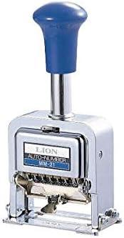 ナンバリング スタンプ 6桁5様式 MC-51 生活用品 インテリア 雑貨 文具 オフィス用品 印鑑 スタンプ 朱肉 top1-ds-1114985-sd5-ah [独自簡易包装]