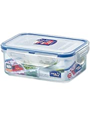 Lock & Lock Rectangular Food Container With Dividers, 460 ml HPL814C