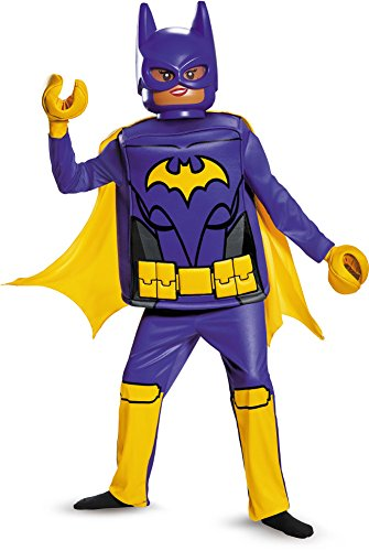 Disguise Batgirl Lego Movie Deluxe Costume, Purple, Small (4-6 Years) ()