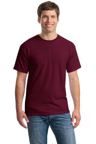 Gildan 5.3 oz. Heavy Cotton T-Shirt, Large, Maroon