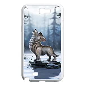 Dibujos animados Dog Unique Design Cover Case with Hard Shell Protection for Samsung Galaxy Note 2N7100Case LXA # 969837by Icecream Diseño
