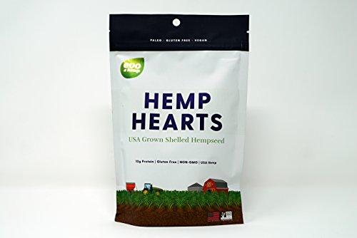 Evo Hemp 100% Hemp Hearts (1 lb) U.S. Hemp Hearts, Plant Based Protein